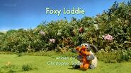 Foxy Laddie title card