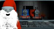 Wooden Santa