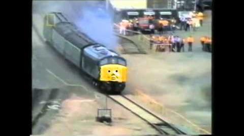 Larry the Loco Meets Nellie the Nuclear Flask