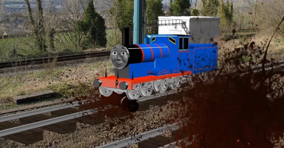 Edward Runs Over Sir Topham Hatt