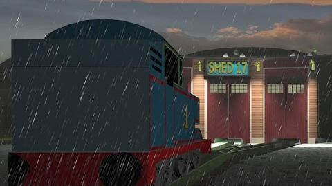 Thomas The Tank Engine Shed 17-0
