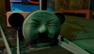 Thomas's face
