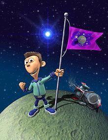 Sheen with the infamous Zeenu flag.