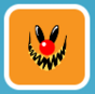 Smiling Clown Face Stamp.png