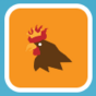 Top Half Of A Chicken Stamp.png