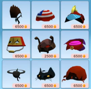 Items in Shop