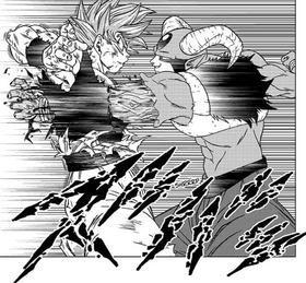 Moro przebija Goku, DBS rozdział 62.png