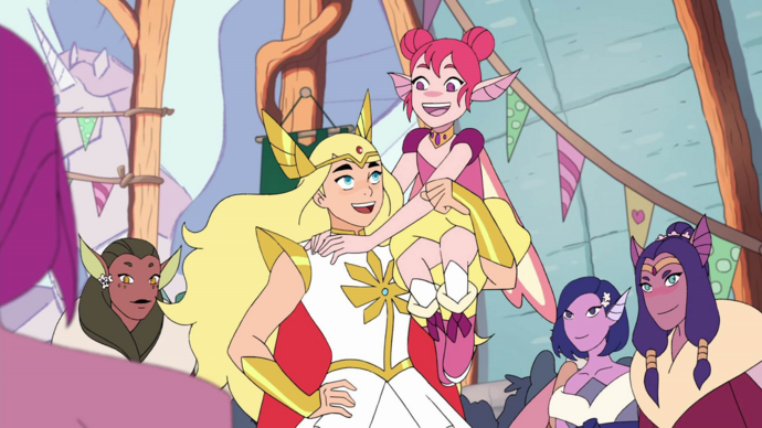 Flutterina (Double Trouble) and She-Ra S4E3.png