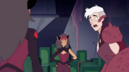 Double Trouble disguised as Catra
