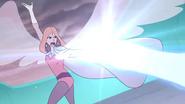 Angella destroys horde robot