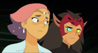 Glimer and Catra