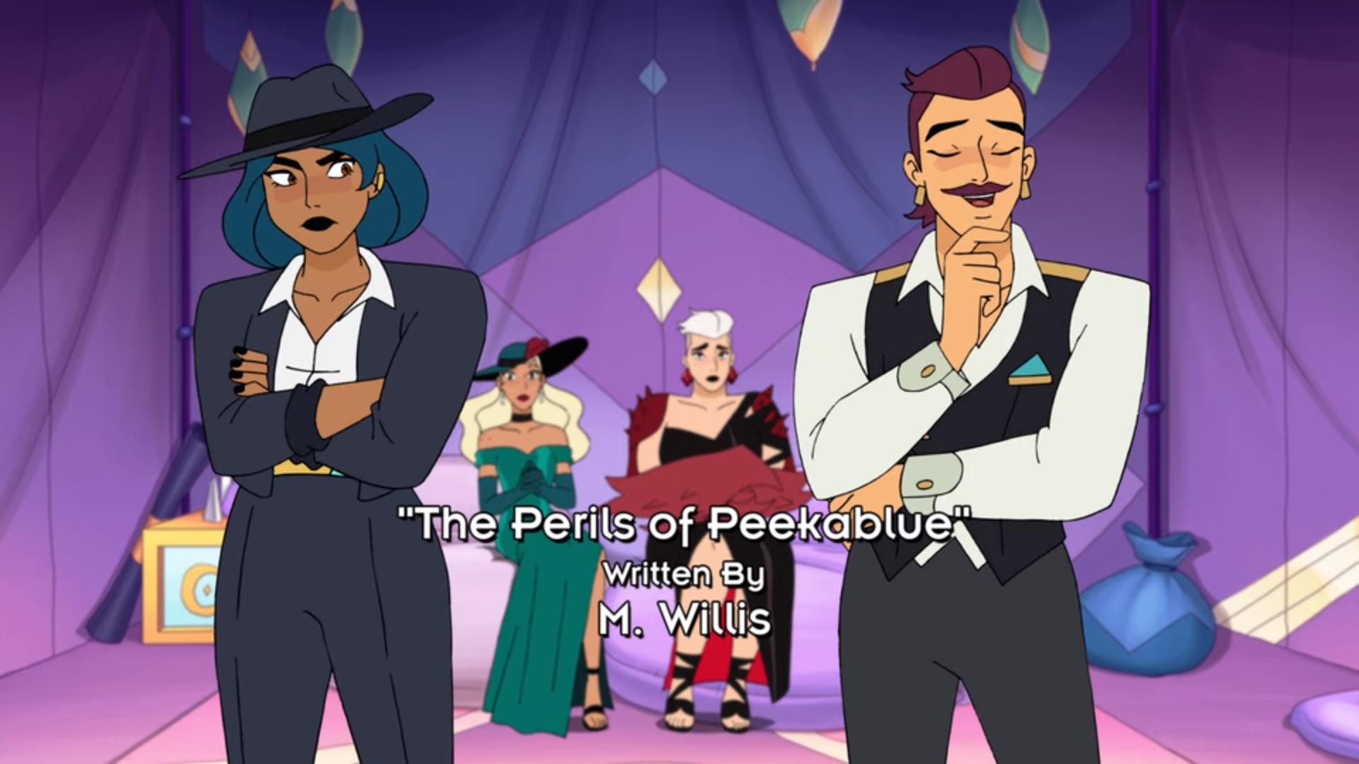 Perils of Peekablue