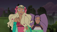 Perfuma dragging Entrapta with her