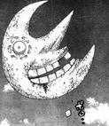 Der Mond verliert einen Zahn