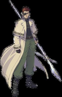 Batu Harai, as he appears in Shikigami no Shiro III.