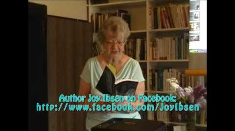 """Michigan Author Joy Ibsen reads part of her new book """"Unafraid"""" at hometown Trout Creek Library"""
