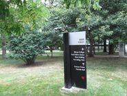 Shimer College navigation sign 2