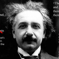 Fake Quotes Project/Einstein/The difference between genius and stupidity is that genius has its limits