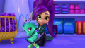 Zeta the Sorceress and Nazboo Dragon Pox Shimmer and Shine
