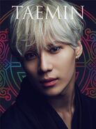 Taemin Sayonara Hitori DVD cover