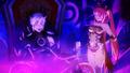 Azazel and Cerberus speaking