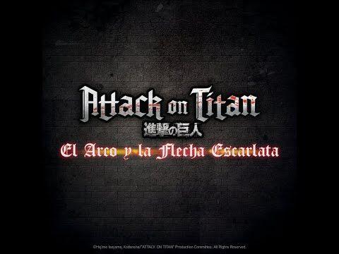 """ATTACK_ON_TITAN_""""El_Arco_y_la_Flecha_Escarlata""""_-_Trailer_Oficial_Español_-AttackOnTitanLasPeliculas"""