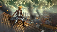 Attack on Titan Game Screenshot 6