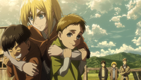 Historia looks after orphans