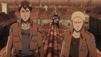 Marco comes across Reiner and Bertholdt