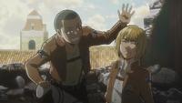 Conny praises Armin for his plan