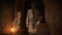 Falco reunites Reiner and Eren
