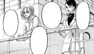 Annie talks to Miss Azumabito
