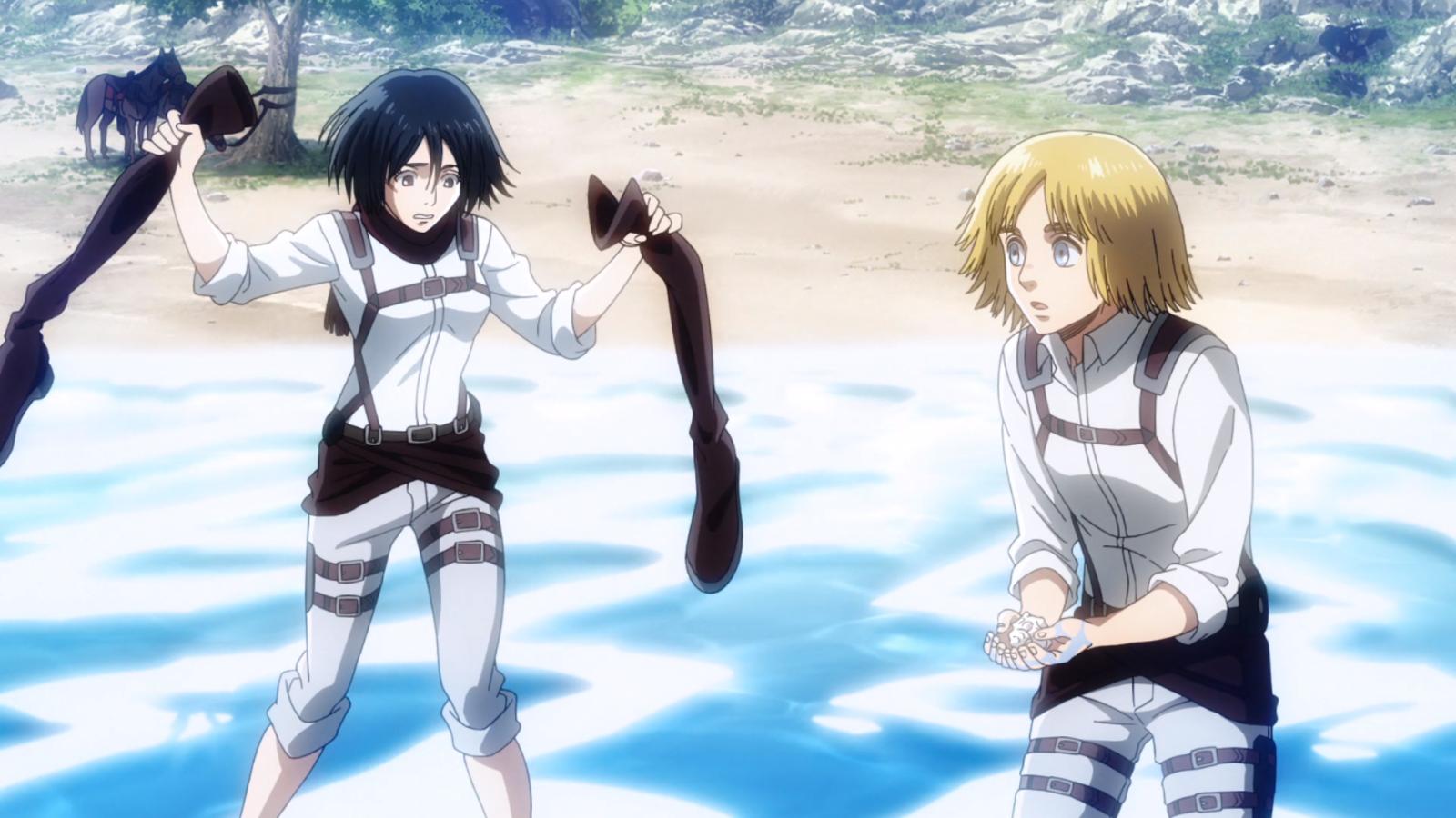 Mikasa und Armin im Meer.png