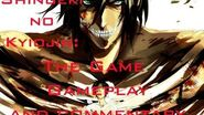 Attack on Titan (Shingeki No Kyojin) Tribute game, Gameplay and Commentary (Armin)