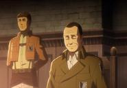 Keith u boku swojego dowódcy