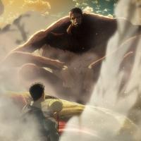 The Beast Titan defeats the Armored Titan