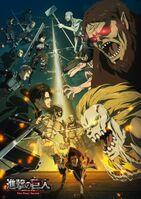 Attack on Titan The Final Season Key Visual 3 (with logo)