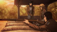 Eren argues for keeping the world at bay