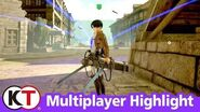 Attack on Titan 2 - Multiplayer Highlight