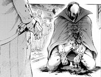 Mikasa stabs the Mirror Man