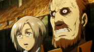 Kitts and Rico witness Eren's powers
