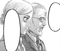 Historia and Zackly listen to Eren's theory