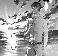 Kruger ricorda Mikasa e Armin