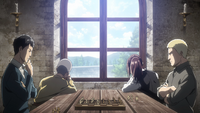 Bertholdt and Reiner playing chess