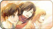 ▶ Attack on Titan Shingeki no Kyojin Season 3 OP •「Red Swan」 YOSHIKI feat