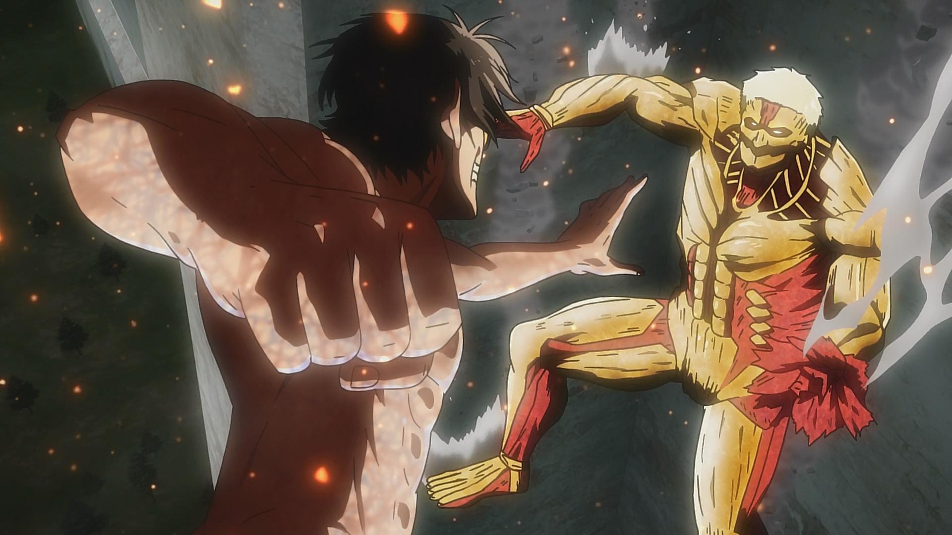 eren titan reveal episode Warrior (Episode)  Attack on Titan Wiki  Fandom