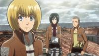 Armin proposes the plan
