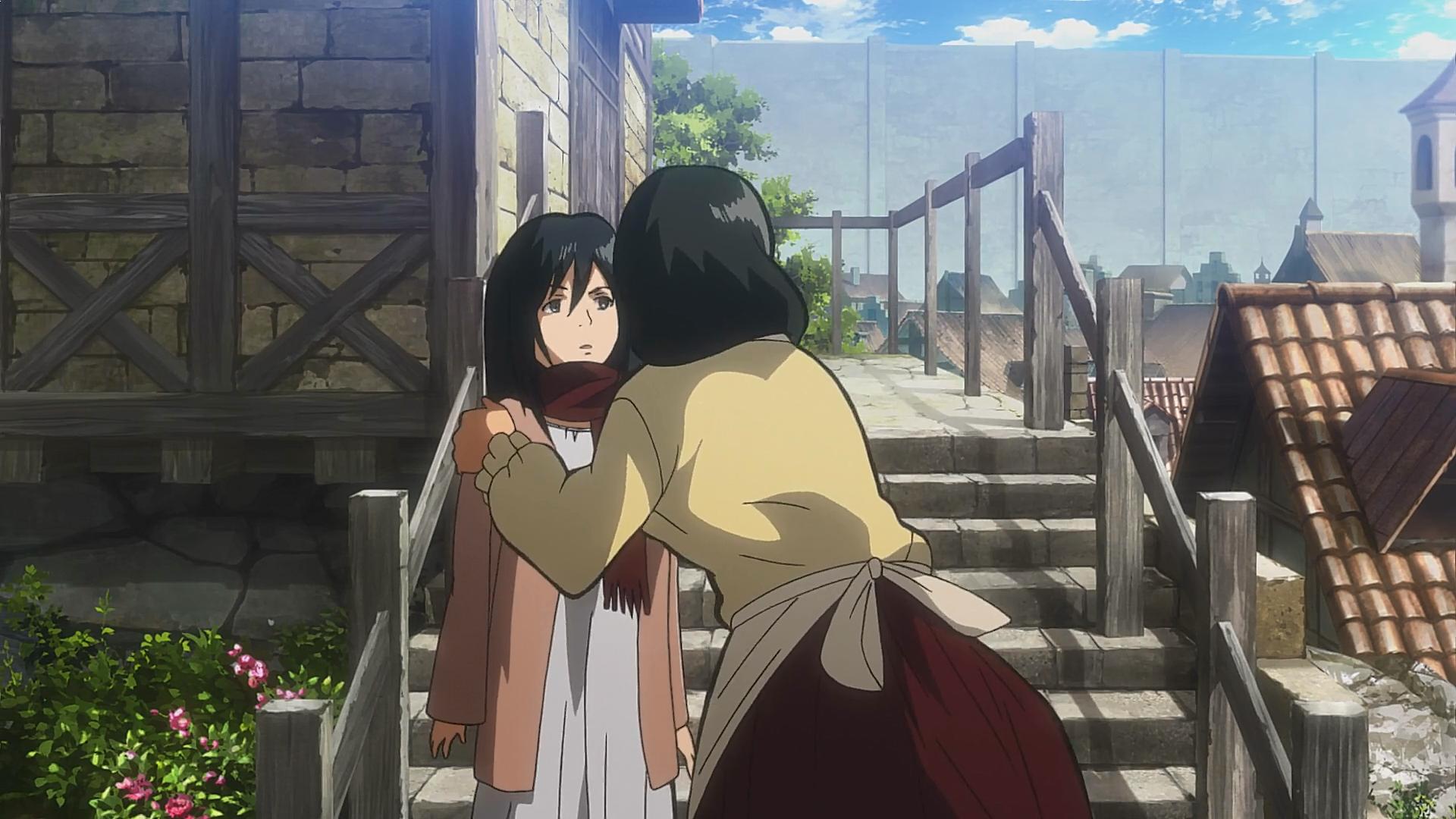 Carla sagt Mikasa, dass sie auf Eren aufpassen soll.png