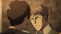 Eren and Jean in yet another fight