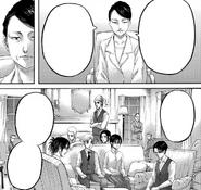 The Survey Corps gather at Kiyomi's estate